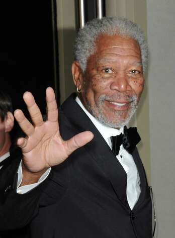Morgan Freeman AFP PHOTO/ Valerie Macon Photo: VALERIE MACON, AFP/Getty Images / AFP ImageForum