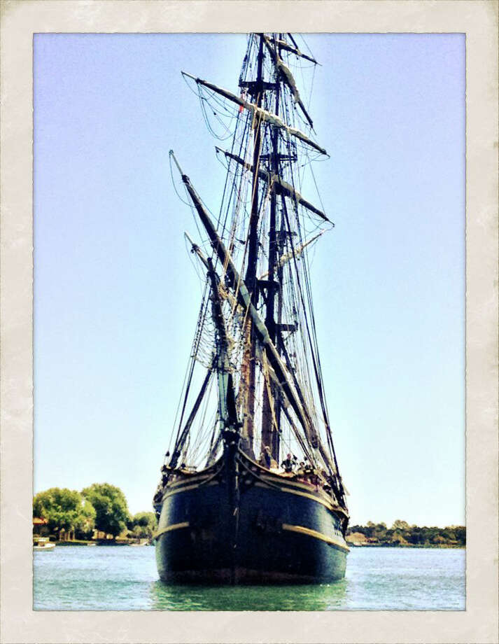 "The HMS Bounty, the very same tall ship used in the 1962 fillm ""Mutiny on the Bounty,"" is expected to sail into Bridgeport's Black Rock harbor on Thursday, Aug. 16, and will be open for tours on Friday through Sunday, Aug. 17-19. Photo: Contributed Photo"