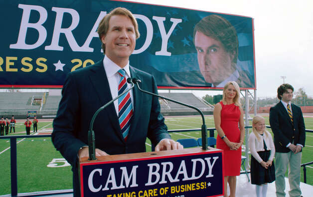 "This film image released by Warner Bros. shows Will Ferrell as Cam Brady in a scene from ""The Campaign."" (AP Photo/Warner Bros., Patti Perret) Photo: Patti Perret"