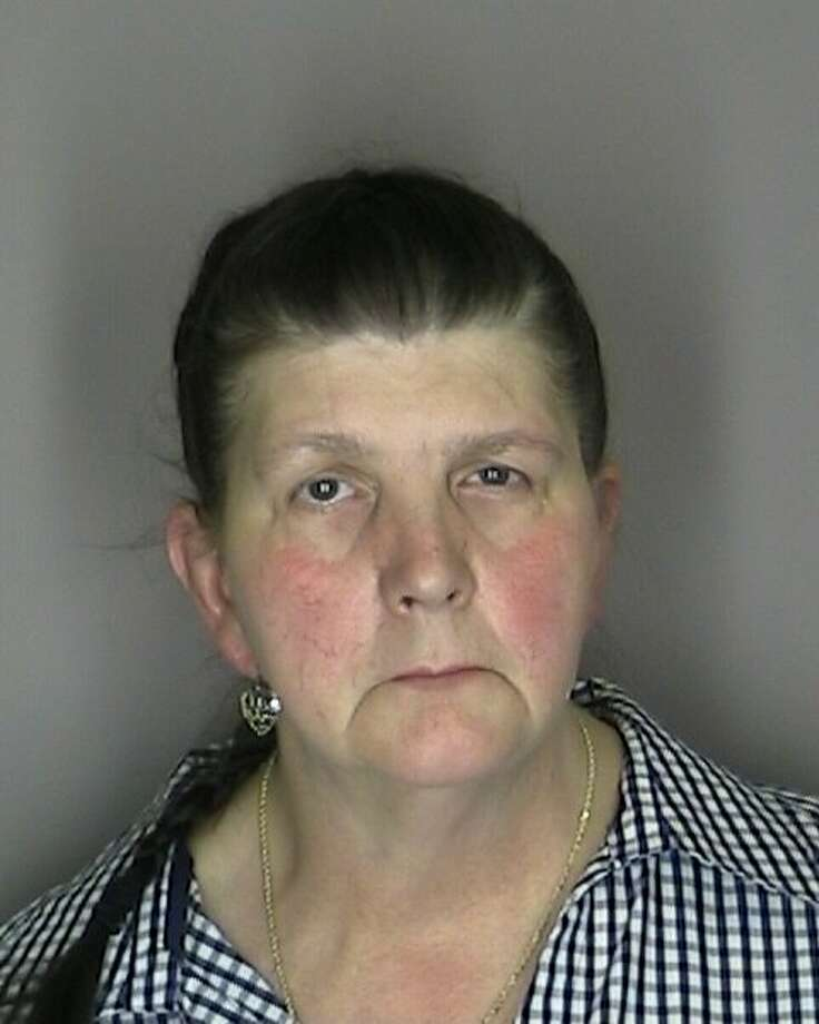 LuAnn Burgess, 55, of Voorheesville, was indicted by an Albany County grand jury Wednesday on charges that accuse her of criminally negligent homicide, vehicular manslaughter, aggravated vehicular homicide, and driving under the influence of a combination of medications in connection with the Aug. 10, 2011 vehicle wreck that killed three women. (Albany County Sheriff's Department)