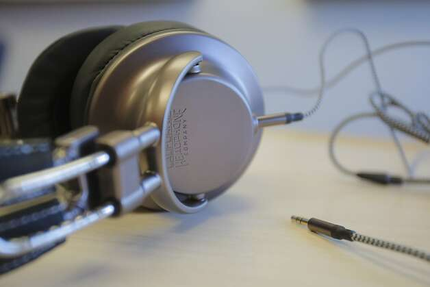 Inspired by Dr. Dre's Beats headphones, California Headphone developed  a line to appeal to country and rock listeners. Photo: Megan Farmer, The Chronicle