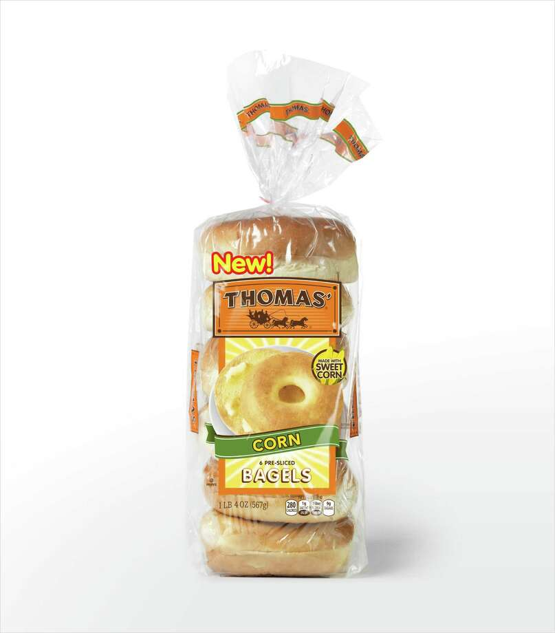 Thomas' Corn Bagels are made with sweet corn and are more on the soft side of the spectrum versus the New York chewy side Photo: Courtesy