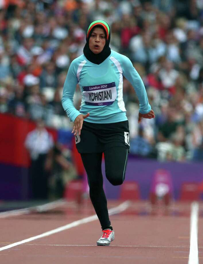 A reader praises a recent column about Tahmina Kohistani, who overcame great challenges both on the track and in society to compete as a female athlete representing Afghanistan. Photo: Jed Jacobsohn, New York Times / NYTNS