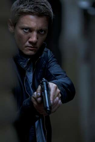"Jeremy Renner assumes ""The Bourne Legacy."" Photo: Mary Cybulski, Universal Pictures"