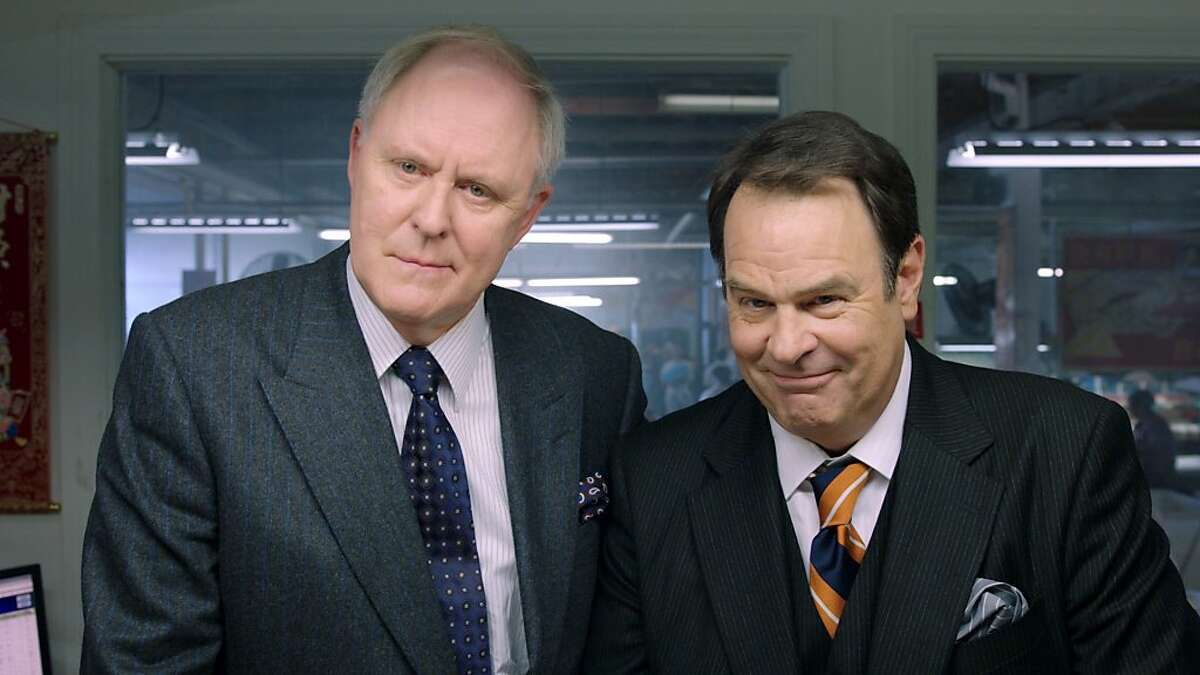 (L-r) JOHN LITHGOW as Glenn Motch and DAN AYKROYD as Wade Motch in Warner Bros. Pictures?• comedy ?'THE CAMPAIGN,?