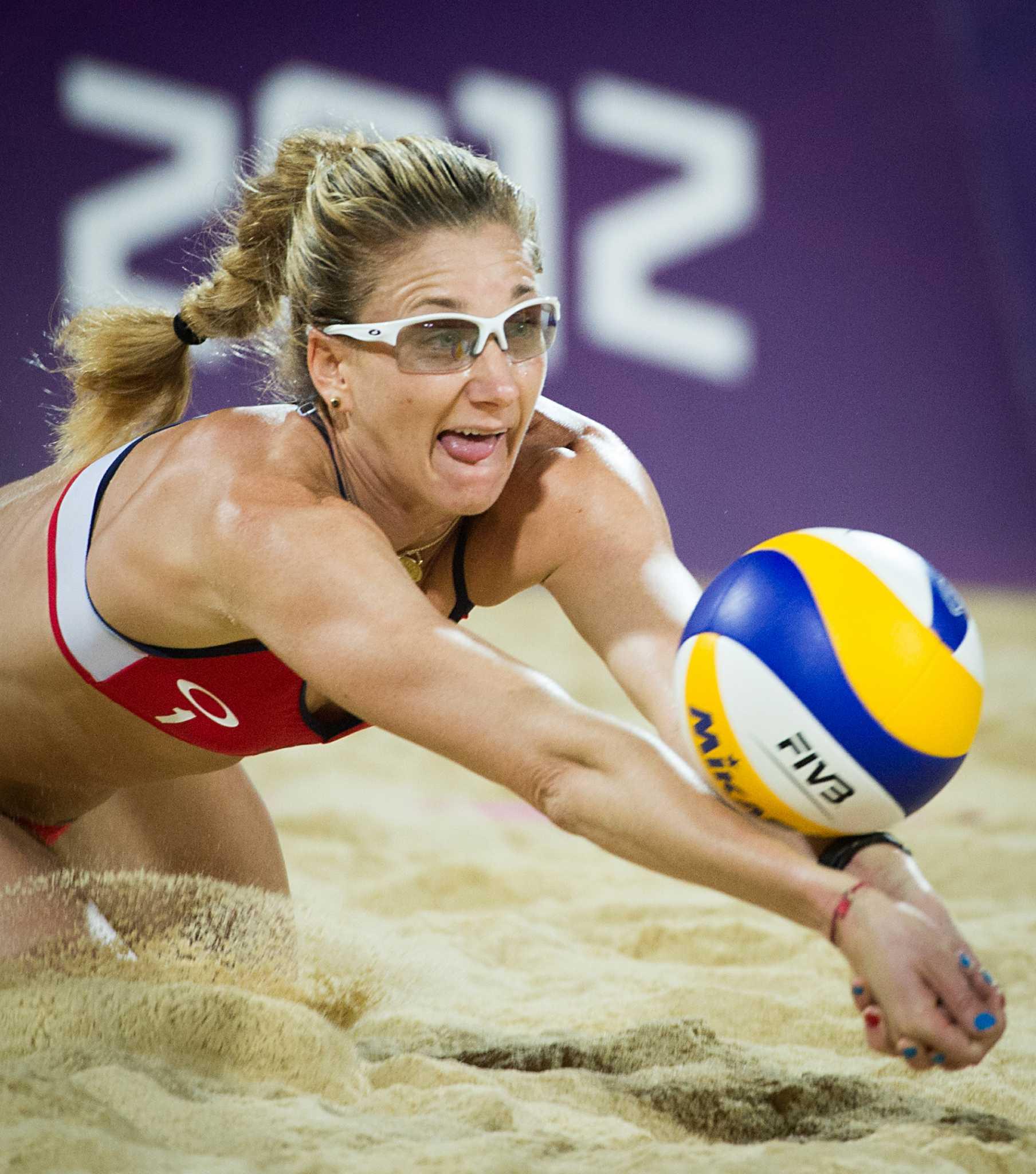 London Olympics: U.S. mens and womens beach volleyball