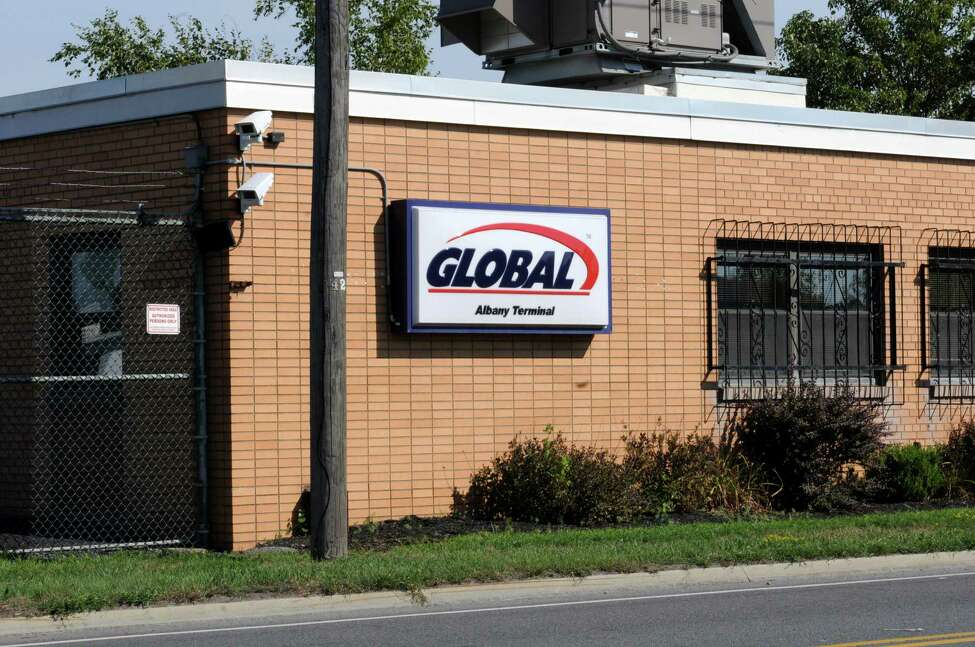 Global Albany terminal at the Port of Albany Wednesday, Aug. 8, 2012 in Albany, N.Y. (Lori Van Buren / Times Union)