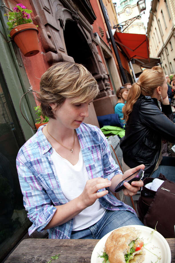 With a smartphone's map capabilities, travelers can log onto a hotspot and figure out how to get to their next destination. Photo: Dominic Bonuccelli, Ricksteves.com