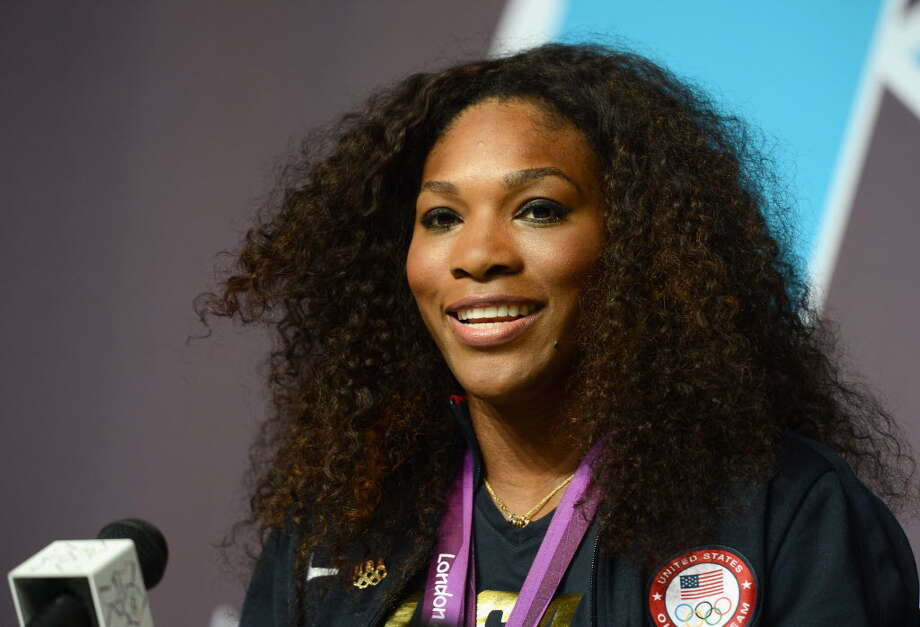 "Olympic Gold medal tennis champion Serena Williams attends a press conference at the London 2012 Olympic Games August 4, in London, England. (Julia Vynokurova/Getty Images)  Williams was criticized for performing Compton's famous ""Crip Walk"" on the courts of Wimbledon after defeating opponent Maria Sharapova in the women's singles on Aug. 4. The hip-hop moves were first made popular by Crip gang members in Compton, an inner suburb of Los Angeles.  Williams' defenders say the dance has since gone mainstream and the tennis Olympian was paying tribute to pop culture and her hometown, having grown up in Compton. Photo:"