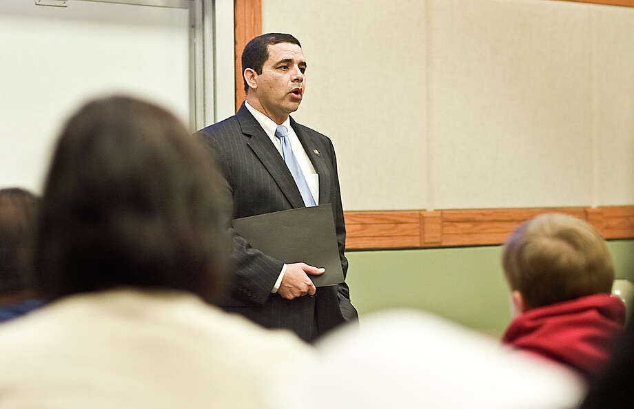 Rep. Henry Cuellar, D. Laredo, helped introduce legislation that would enable federal-state and public-private cooperation on certain road projects. Photo: Laredo Morning Times File Photo / Laredo Morning Times