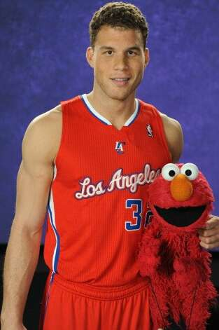 File: Blake Griffin #32 of the Los Angeles Clippers made a guest appearance on Sesame Street on April 3, 2012 at Occidental Studios in Los Angeles, (Photo by Andrew D. Bernstein/NBAE via Getty Images) (NBAE/Getty Images)