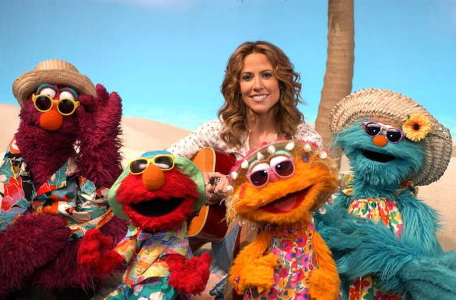 """Sesame Street"" musical guests have included Sheryl Crow."