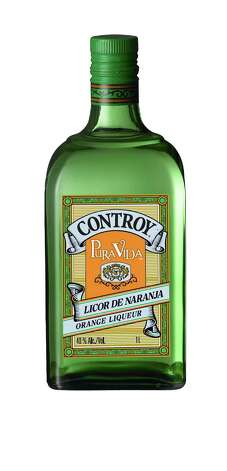 Controy, a Mexican orange liqueur, is now available in the United States. Imported by Pura Vida tequila. Photo: Courtesy