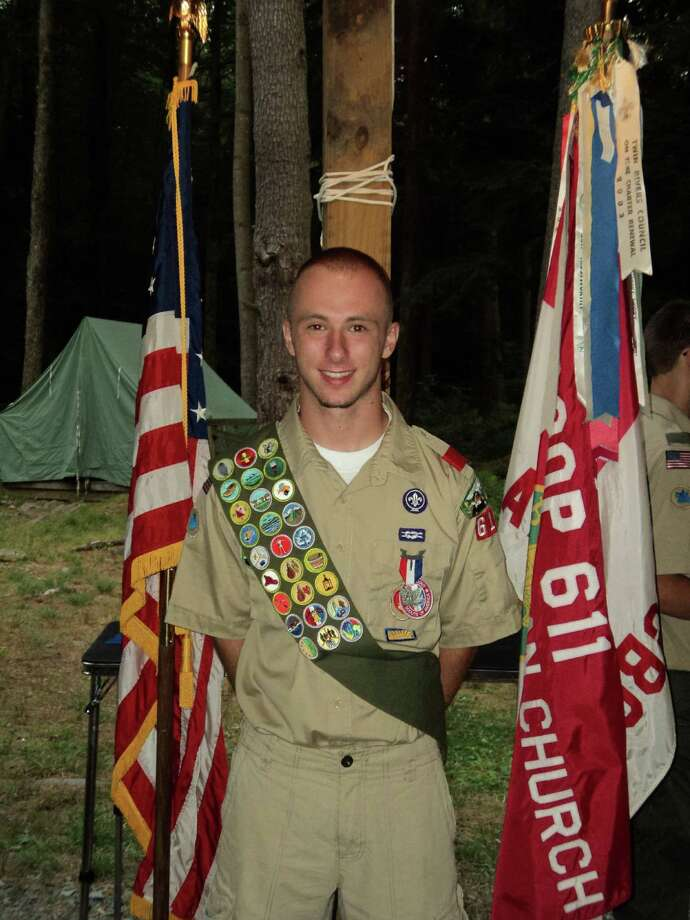 Robert Gould of Lansingburgh became an Eagle Scout on Aug. 1, 2012. (Gould family photo)