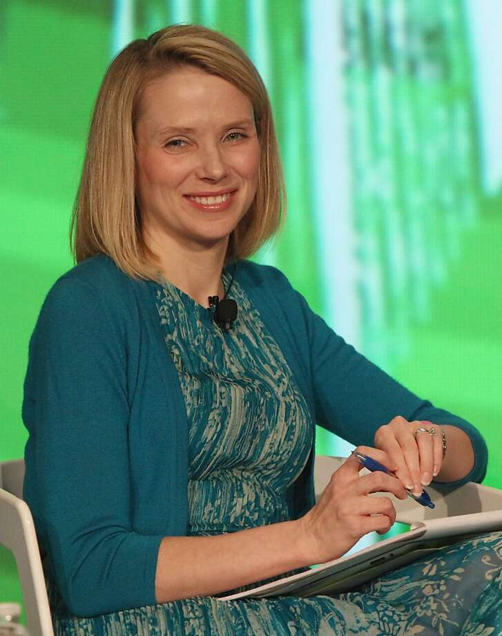 FILE - JULY 17, 2012:  Google executive Marissa Mayer has been poached by Yahoo as they appoint their third CEO within the last year; a move which is expected to see the company sharpen it's focus on technology and products. NEW YORK, NY - MAY 23:  Marissa Mayer of Google speaks at TechCrunch Disrupt NYC 2012  day 3  at Pier 94 on May 22, 2012 in New York City.  (Photo by Paul Zimmerman/Getty Images for TechCrunch/AOL) Photo: Paul Zimmerman
