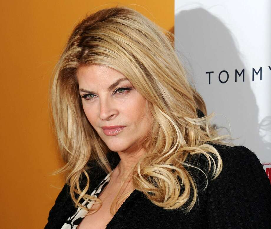 "Actress Kirstie Alley at the premiere for the film ""The Runaways"" at the Landmark Sunshine Theater in New York.  (Evan Agostini / Associated Press)"