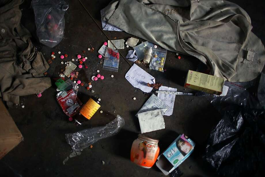 When M23 rebels hit Congo's largest military camp in Rumangabo, soldiers left their belongings. Photo: Jerome Delay, Associated Press
