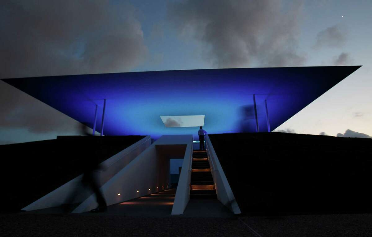 Check out James Turrell's