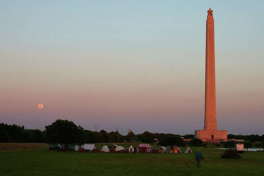 Enjoy a history lesson at the San Jacinto Battleground State Historic Site. Photo: Pete Holley