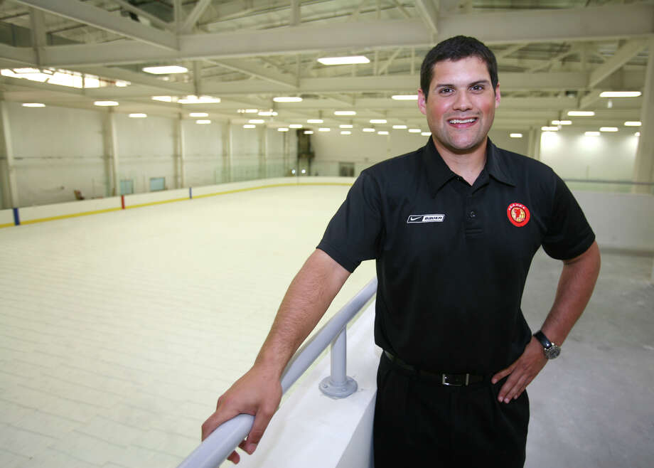 Ryan Hughes of Stamford, president of the SoNo Ice House, by the facility's NHL regulation sized rink at 300 Wilson Avenue in Norwalk on Thursday, August, 2, 2012. Photo: Brian A. Pounds / Connecticut Post