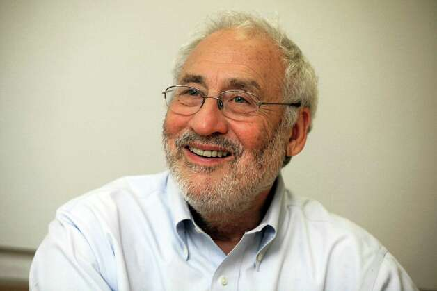 "Joseph Stiglitz, a winner of the Nobel Prize in Economics, is interviewed at Columbia University,in New York,  Thursday July 26, 2012.  He is the author of the new book ""The Price of Inequality.""   In his new book, he connects surging student loan debt, the real-estate bubble and many of the country's other problems to greater inequality.(AP Photo/Richard Drew) Photo: Richard Drew"