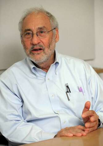 "HFS BY MATT CRAFT  Joseph Stiglitz, a winner of the Nobel Prize in Economics, is interviewed at Columbia University,in New York,  Thursday July 26, 2012.  He is the author of the new book ""The Price of Inequality.""   In his new book, he connects surging student loan debt, the real-estate bubble and many of the country's other problems to greater inequality.(AP Photo/Richard Drew) Photo: Richard Drew"
