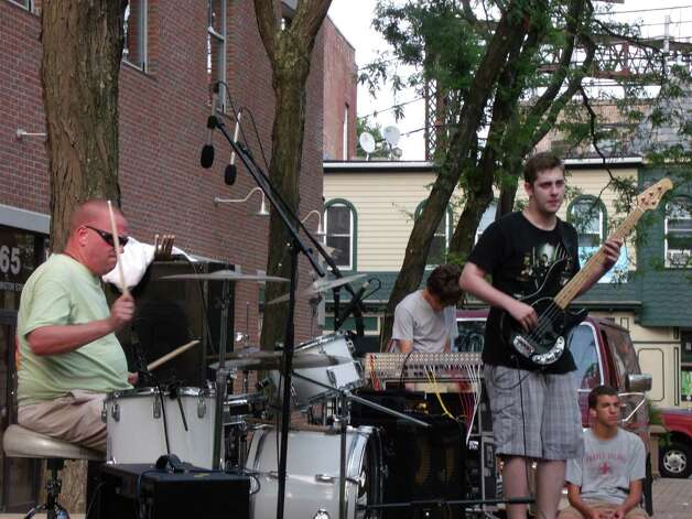 "Were you seen in South Norwalk at the SONO Summer Concert ""In The Park"" with local rock band Remember September & Steve Clarke to benefit Norwalk Police and Fire Dept. August 9,2012? Photo: Todd Tracy / Connecticut Post"