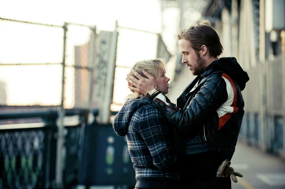 """FILE - In this publicity file photo released by The Weinstein Company, Michelle Williams, left, and Ryan Gosling, are shown in a scene from, """"Blue Valentine."""" Gosling is slated to portray Neil Armstrong in Dreamworks' upcoming film """"First Man."""""""