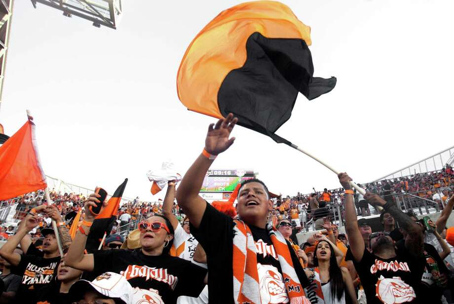The Dynamo are tuning out the distractions and focusing on the road ahead after their 2-0 home win over New York last week. Photo: J. Patric Schneider, Houston Chronicle / © 2012 Houston Chronicle