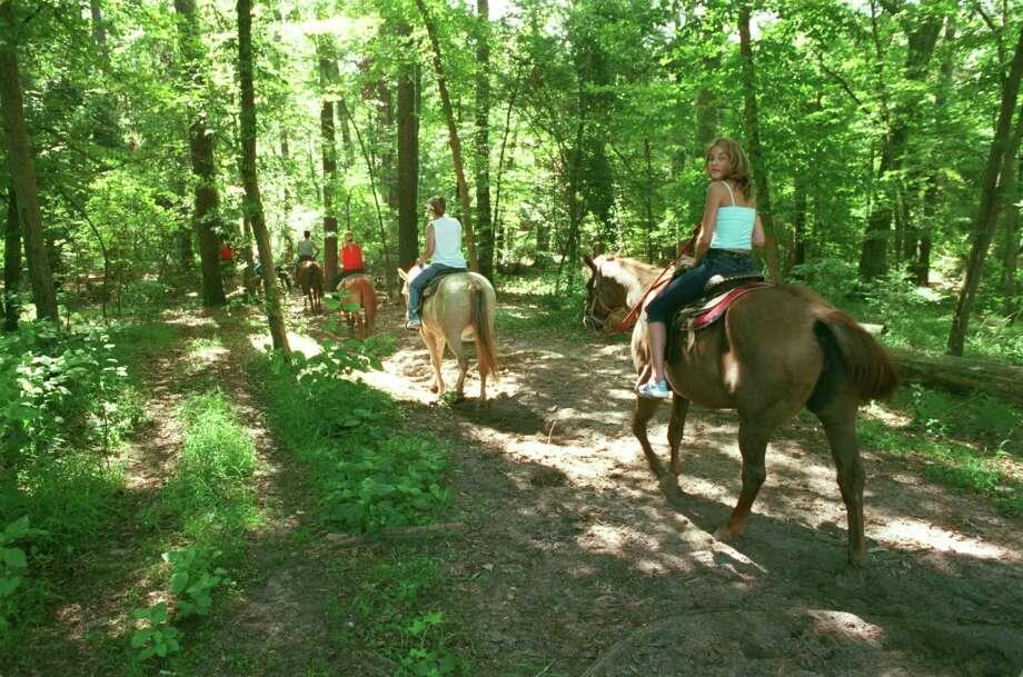 Ride a horse through Huntsville State Park. (E. Joe Deering/Chronicle file). Photo: E. Joseph Deering, Houston Chronicle / Houston Chronicle