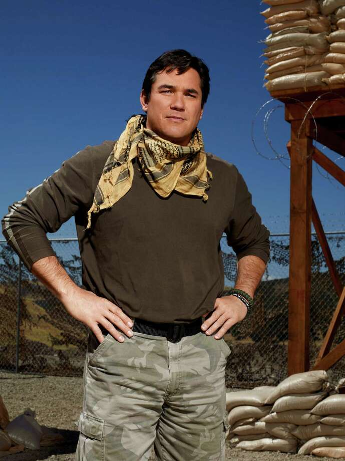 "Dean Cain (above), Laila Ali, Todd Palin and other celebrities compete in challenges based on U.S. military training exercises in ""Stars Earn Stripes,"" a reality series premiering at  7 p.m. Monday on NBC. Photo: -- / 2012 NBCUniversal Media, LLC"