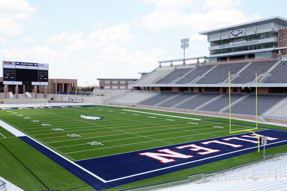 Allen High School near Dallas is set to open its new $60 million football stadium on Aug. 31. Photo: Tim Carroll, Allen ISD / Allen ISD