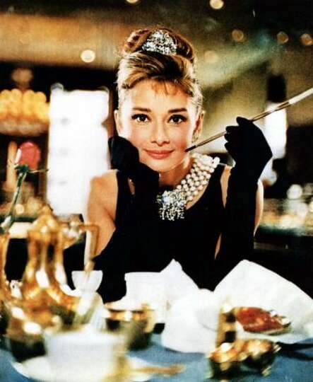 Audrey Hepburn in the 1961 film,