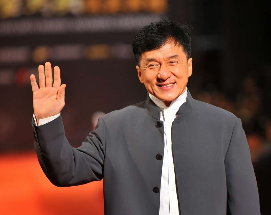 "Jackie Chan - net worth of $140 million. ""Chan says he would give away half his money to charity when he dies, instead of his son Jaycee."" Source: news.com.au"
