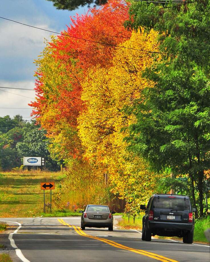 Fall foliage is one of our favorite things about living in Upstate New York. The changing colors make the Northway traffic easier to deal with.(John Carl D'Annibale / Times Union)