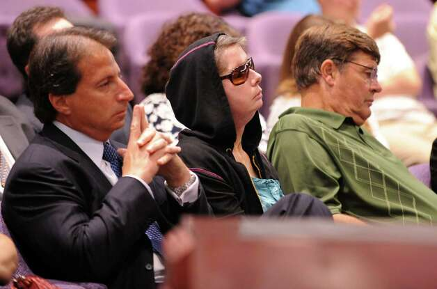 Charla Nash attends a hearing before the state Claims Commissioner Friday, August 10, 2012 at the Legislative Office Building in Hartford, Conn.  Nash is seeking permission from the commissioner to sue the state for $150 million in damages from a 2009 chimpanzee attack. Photo: Autumn Driscoll / Connecticut Post