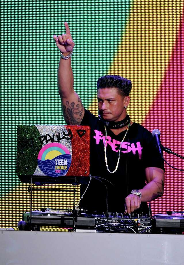 UNIVERSAL CITY, CA - JULY 22:  DJ Pauly D spins onstage during the 2012 Teen Choice Awards at Gibson Amphitheatre on July 22, 2012 in Universal City, California. Photo: Kevin Winter, Getty Images / 2012 Getty Images