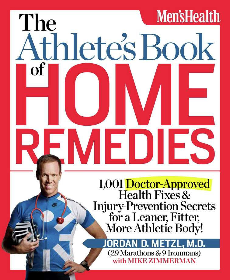 """""""The Athlete's Book of Home Remedies"""""""