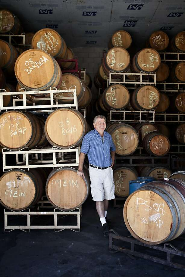 Don Baldwin, Rios-Lovell Estate Winery in Livermore, produces more than two dozen wines and Ports. Photo: Jason Henry, Special To The Chronicle