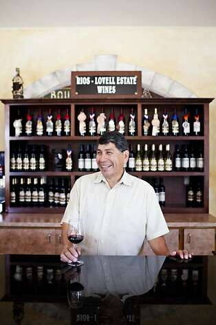 Owner Max Rios in the tasting room at Rio-Lovell Estate Winery in Livermore, Calif., August 1, 2012. Jason Henry/Special to The Chronicle Photo: Jason Henry, Special To The Chronicle