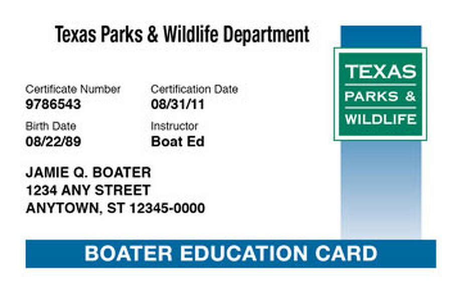 HCN_BOATER080112 Photo: Texas Parks And Wildlife, Teen Boaster Education Mandatory