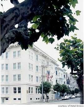 Exterior at the Hotel Drisco in San Francisco, CA