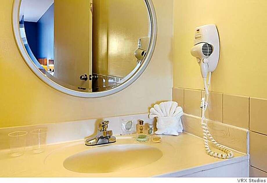 Bathrooms at La Luna are basic. Photo: VRX Studios