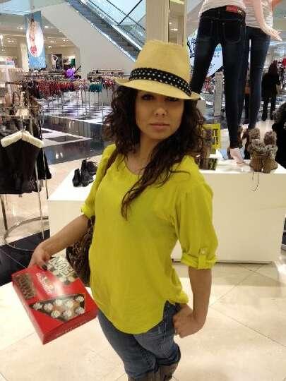 Shanna Gonzales as Eva Longoria