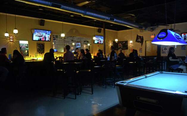 Newly opened on Grissom Rd., Pirate Tavern caters to a mostly young crowd and offers everyday drink specials that include two dollar beers, pool, darts and pirate's feel complete with plenty of cool decorations. Robin Johnson