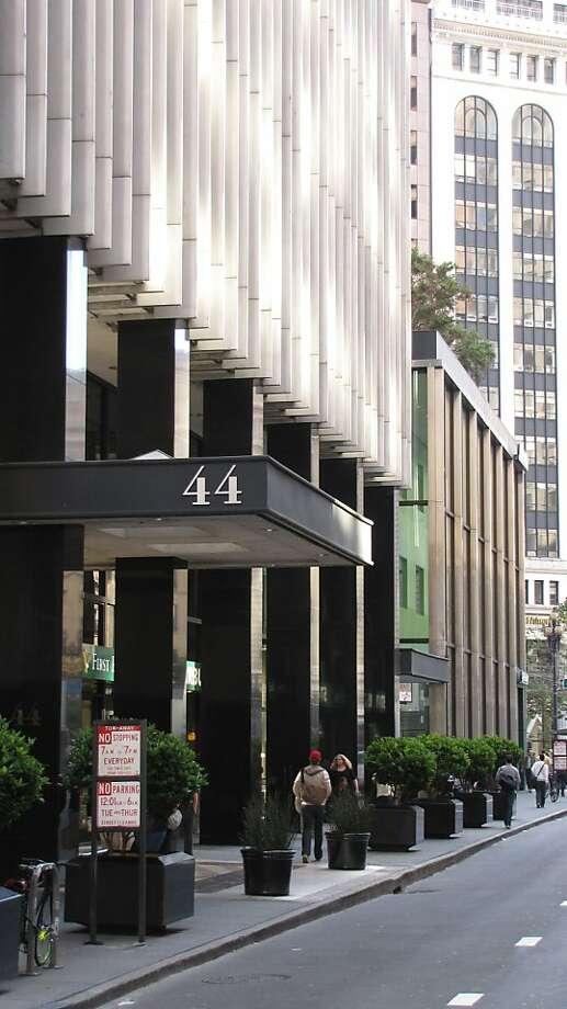 44 Montgomery St. Architect: John Graham | Style: Corporate modern Size: 43 stories | Date built: 1966 Photo: John King, The Chronicle