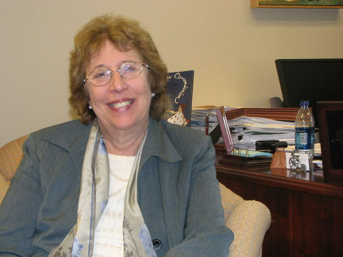 Sen. Lois Wolk, D-Davis, in her Sacramento office.