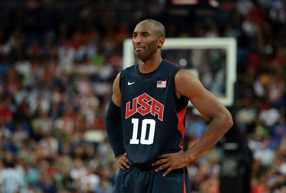 US guard Kobe Bryant is pictured during the London 2012 Olympic Games men's semifinal basketball game between Argentina and the USA at the North Greenwich Arena in London on August 10, 2012. AFP PHOTO /TIMOTHY A.  CLARYTIMOTHY A. CLARY/AFP/GettyImages Photo: TIMOTHY A. CLARY, AFP/Getty Images / AFP