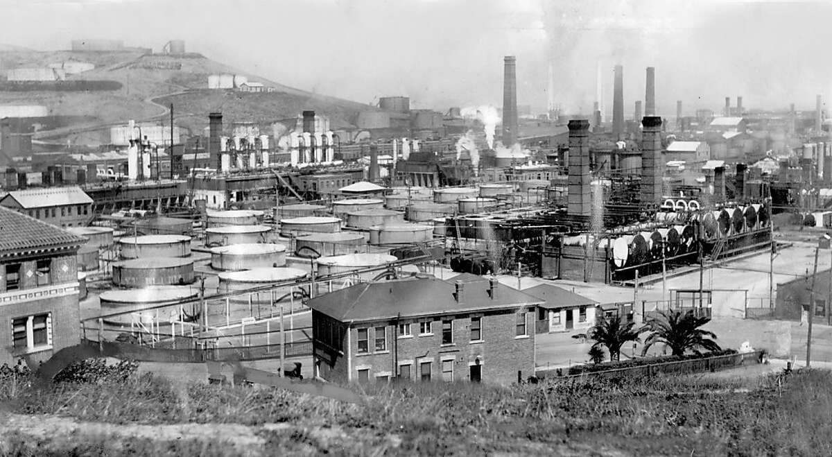 The Chevron refinery is seen March 19, 1923, as it was know then, Standard Oil.