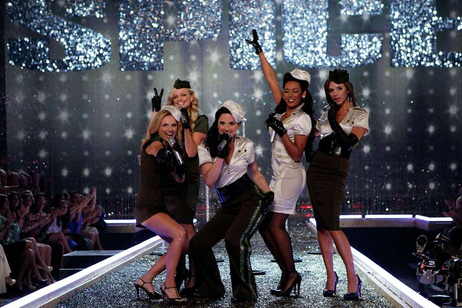 Wow, the Spice Girls sound just like they used to. Well, then it is probably too good to be true.  Photo: CLIFF LIPSON / CBS ENTERTAINMENT